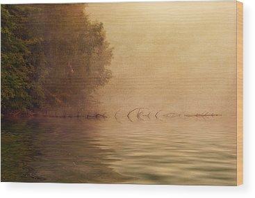 Golden Pond Wood Prints