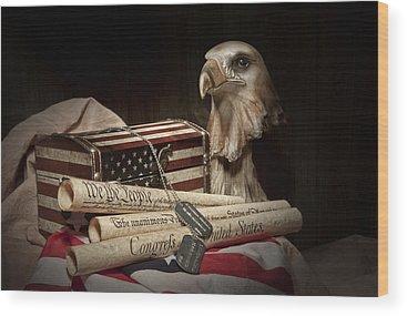 Eagle Wood Prints