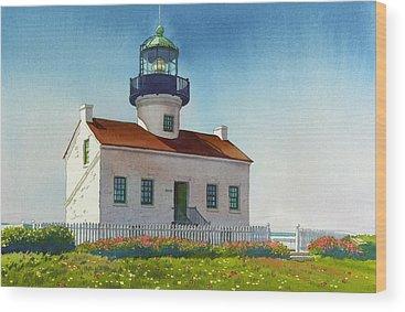 Southern California Wood Prints