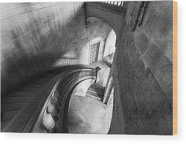 Stairwell Wood Prints