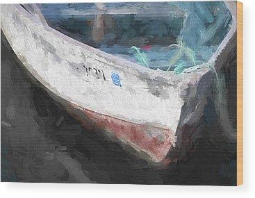 Rowboat Wood Prints