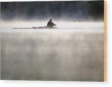 Rowing Wood Prints
