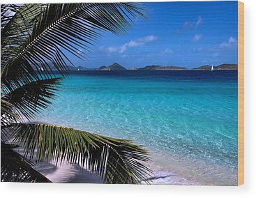 Caribbean Sea Wood Prints