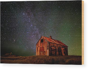 Milky Way Wood Prints