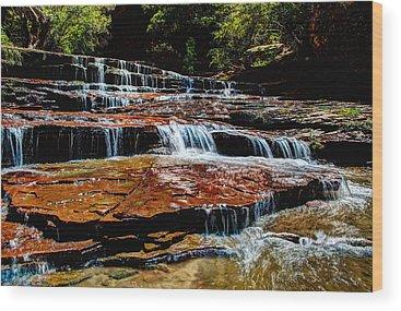 Red Rocks Park Wood Prints