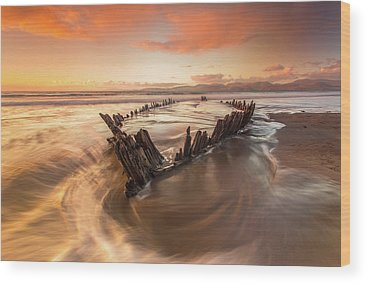 Shipwreck Wood Prints