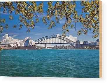 South Australia Wood Prints