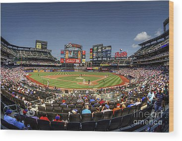 New York Mets Wood Prints