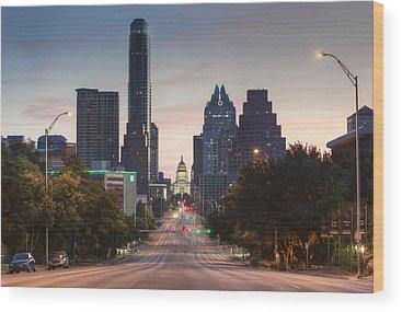 Austin Texas Wood Prints