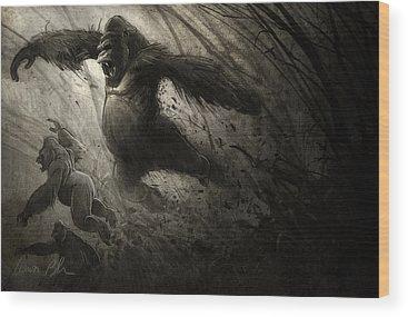 Ape Wood Prints