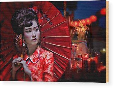Chinatown Wood Prints