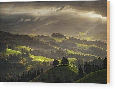 Switzerland Wood Prints