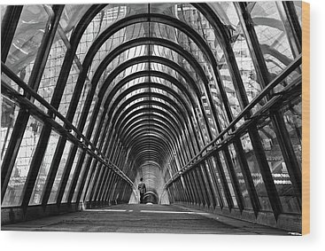 Tunnel Wood Prints