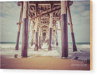 Pier Photographs Wood Prints