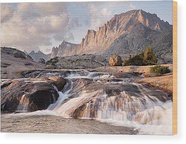 Wind River Range Wood Prints