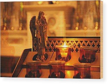 Pray For Love Wood Prints