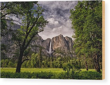 Yosemite California Wood Prints