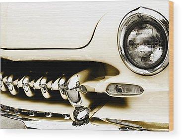 Classic Hot Rod Wood Prints