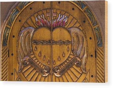 Sacred Heart Photographs Wood Prints
