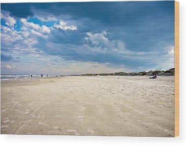 Saint Augustine Beach Wood Prints