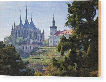 Saint Barbara Wood Prints