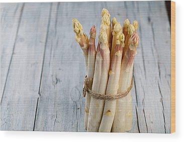 Asparagus Wood Prints