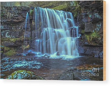 Waterfall Wood Prints