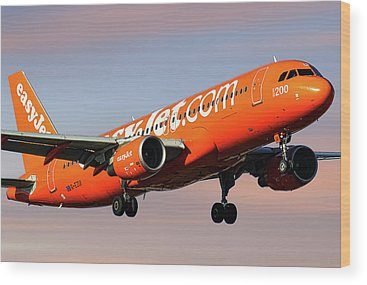 Easyjet Wood Prints