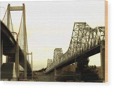 Benicia Bridge Wood Prints