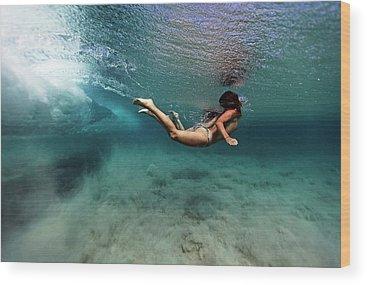 Swim Wood Prints