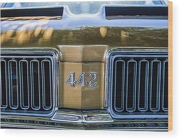 Oldsmobile 442 Wood Prints