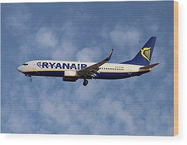 Ryanair Wood Prints