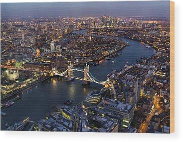 Tower Of London Wood Prints