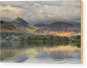 English Lake District Wood Prints