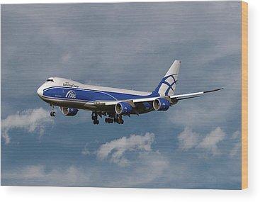 Cargo Plane Wood Prints