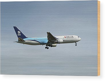 Delta Air Lines Wood Prints