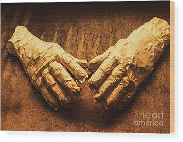 Bandage Wood Prints