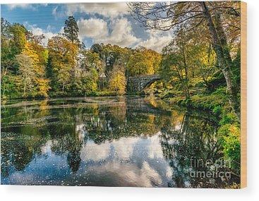 Fairy Glen Wood Prints