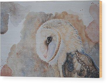 Uil Wood Prints
