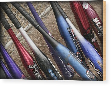 Softball Wood Prints