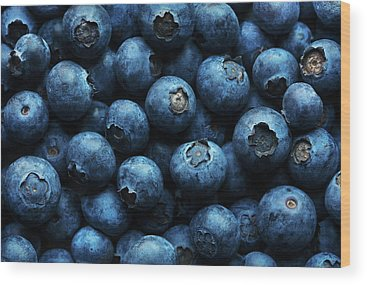 Blueberry Wood Prints