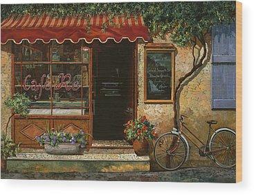 Shops Wood Prints