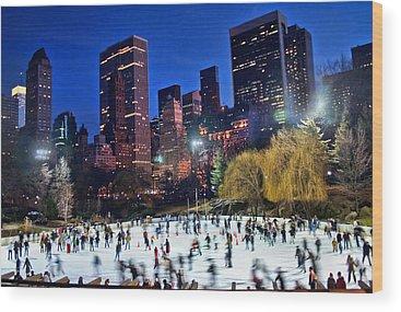 Central Park Wood Prints