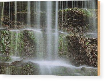 Waterfall Wood Prints