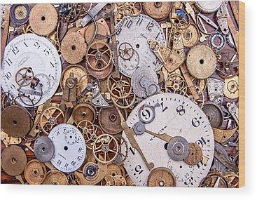 Timing Wood Prints