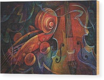 String Instruments Wood Prints
