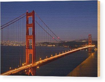 San Francisco Wood Prints
