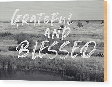 Blessed Wood Prints