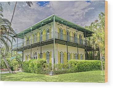 Hemingway House Wood Prints