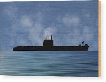 Royal Navy Wood Prints